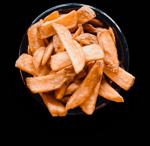 Schaaltje friet