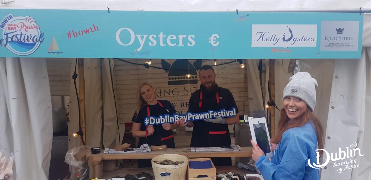 Ripple Event Activation for Dublin Bay Prawn Festival