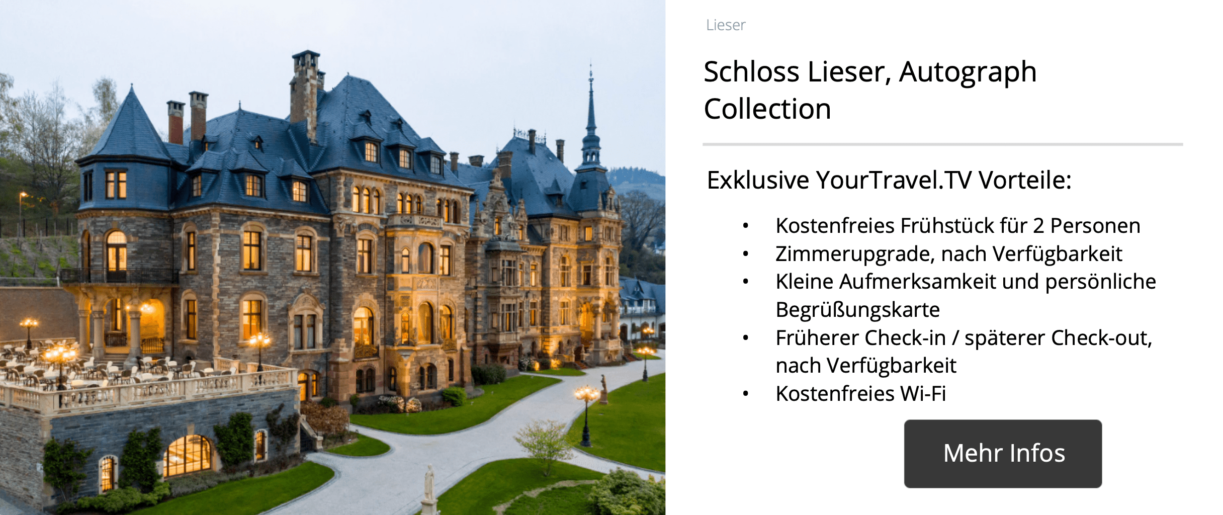 Schloss Lieser, Autograph Collection