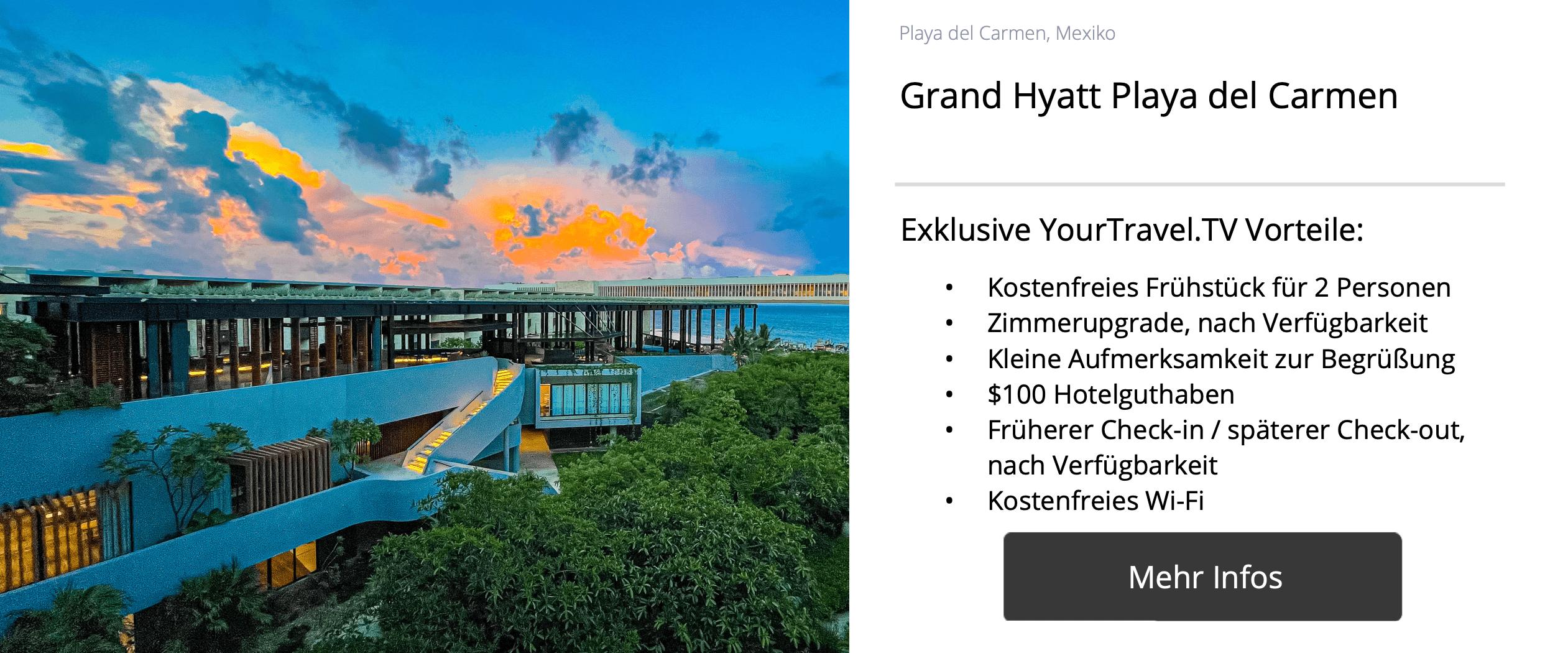 Grand Hyatt Playa del Carmen, YourTrave.TV Hotelsuche
