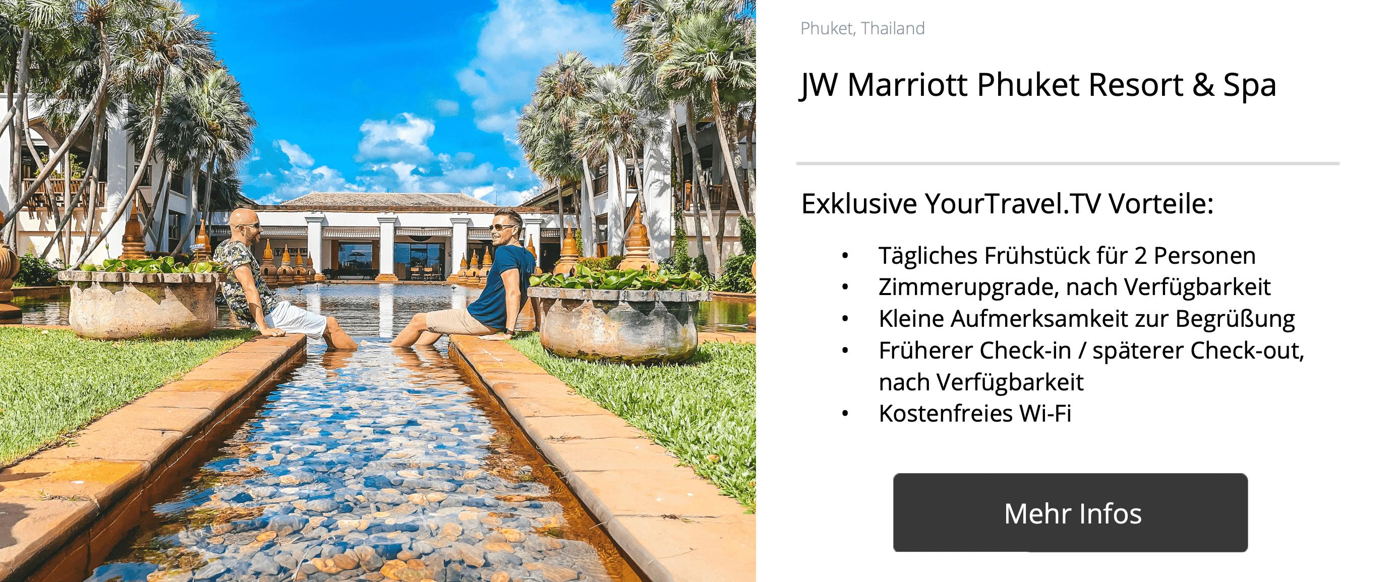 JW Marriott Phuket - YourTravel.TV