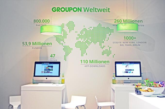 Groupon auf der Internorga Hamburg