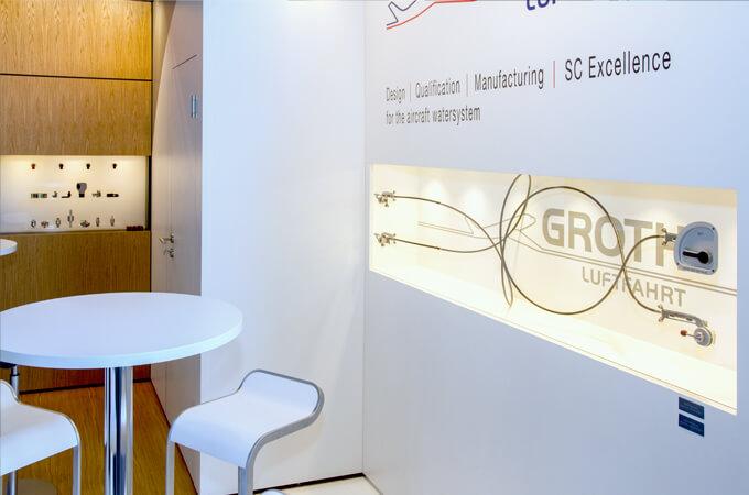 Groth Luftfahrt auf der Aircraft Interiors Expo Hamburg