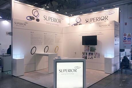 Superior Seals auf der Mostra Convengo Expocomfort Mailand