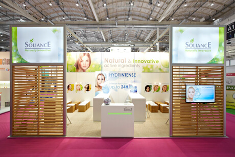 Soliance auf der in-cosmetics Paris