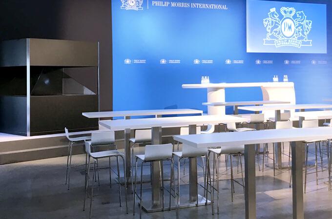 Eventaussattung für prio technology GmbH in Hamburg