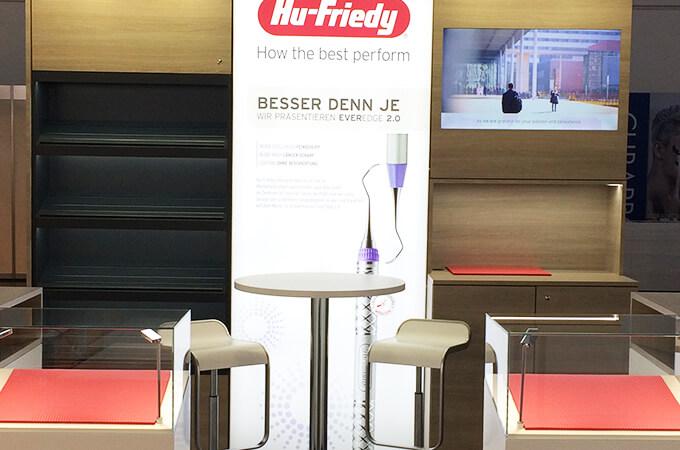 Hu-Friedy auf der Fachdental Stuttgart