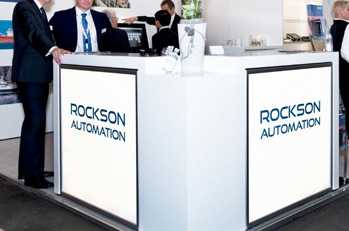 Rockson auf der SMM Hamburg