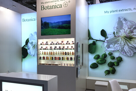 Botanica auf der in-cosmetics London