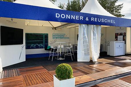 Donner & Reuschel auf dem Porsche European Open in Winsen Luhe