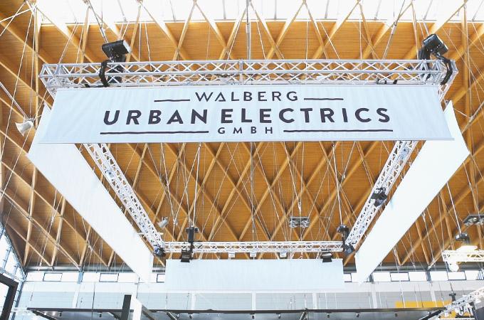 Walberg Urban Electrics auf der Eurobike Friedrichshafen