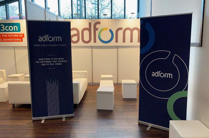 Stellwand SYSTEM und Möbel für die d3con im Cinemaxx Dammtor in Hamburg