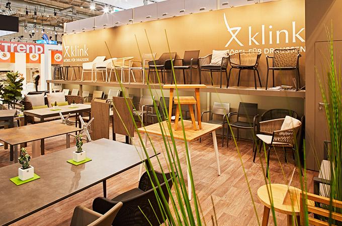 Klink Gartenmöbel auf der Internorga Hamburg