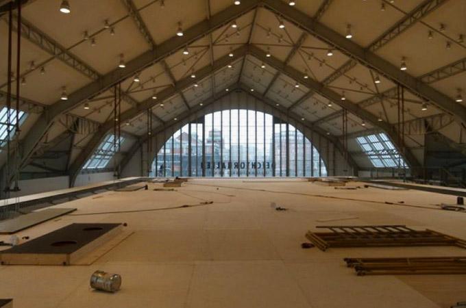Bauleitung für das Projekt Horizon Field in den Deichtorhallen in Hamburg