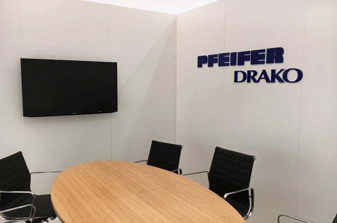 Pfeifer Drako auf der Interlift Augsburg