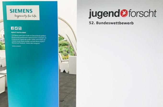 JugendForscht für Prio in Erlangen