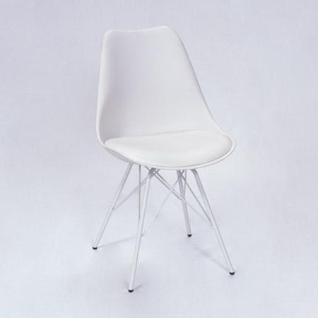 Stuhl Eames weiß