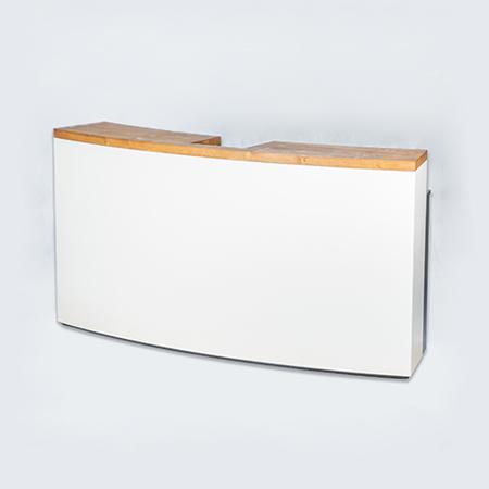 Tresen weiß/Spruce Konvex