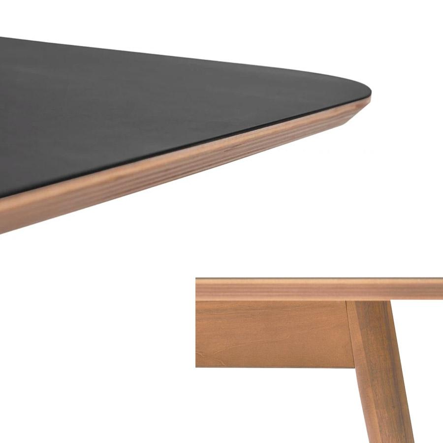 Konferenztisch Black/Oak