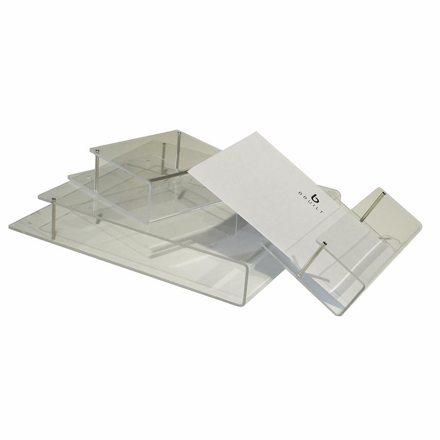 Wand - Prospekthalter DIN A4