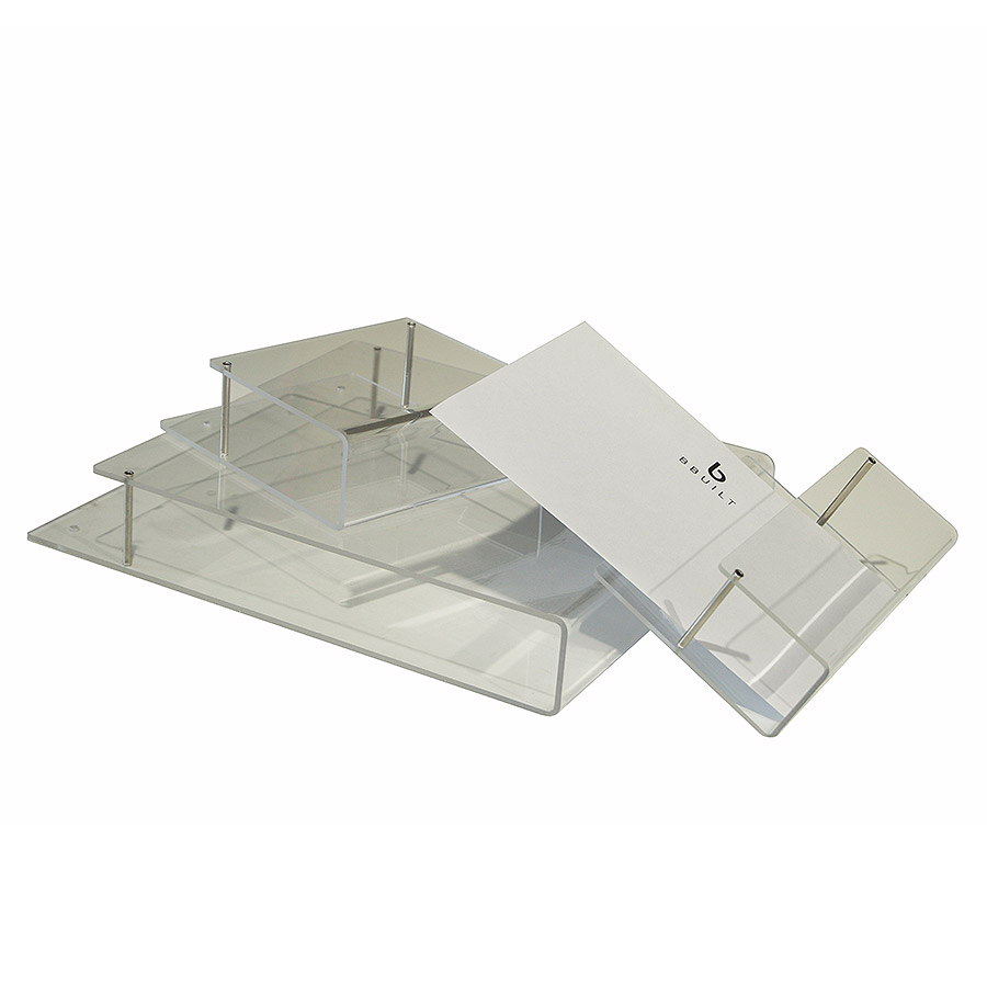Wand - Prospekthalter DIN A5