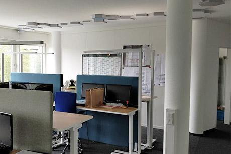 Büroausbau des Heidrich-Ingenieurbüro in Münster