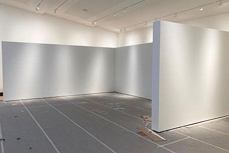 Museumswände für die Sammlung P.Schmidt in Waldkraiburg