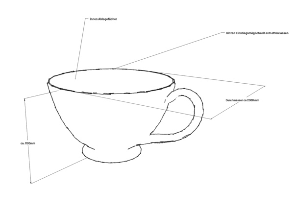 Skizze Tasse - YOGI TEA