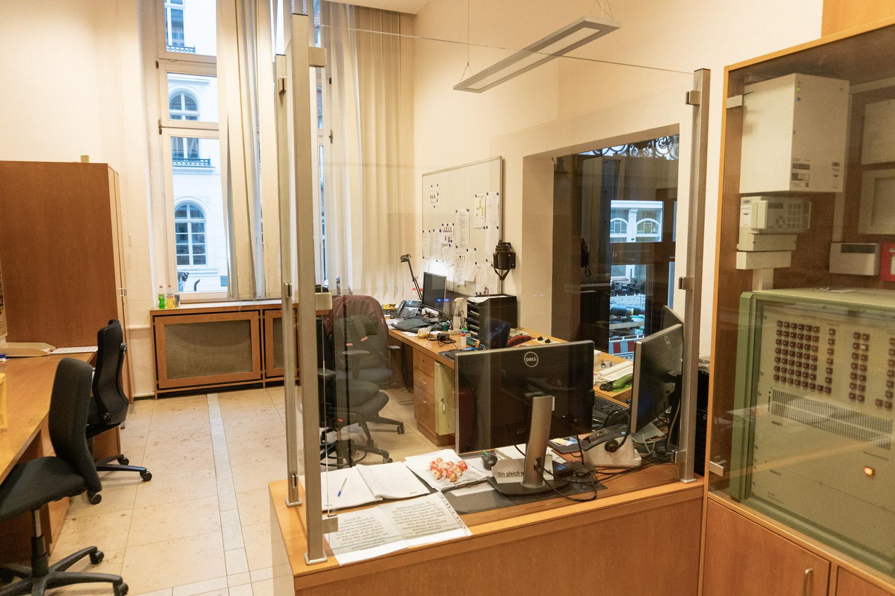 Hustenschutz - Büro