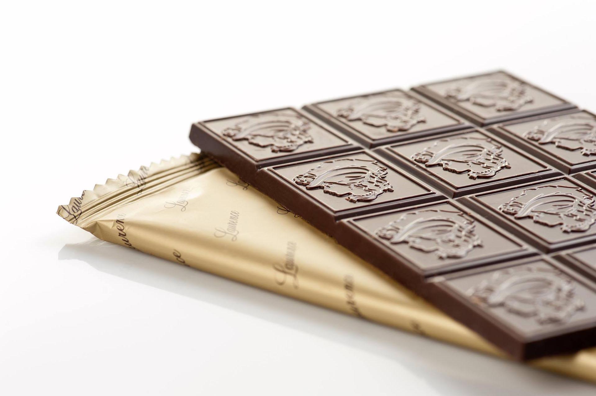 Συσκευασίες Premium Handmade σοκολάτας για τη Laurence