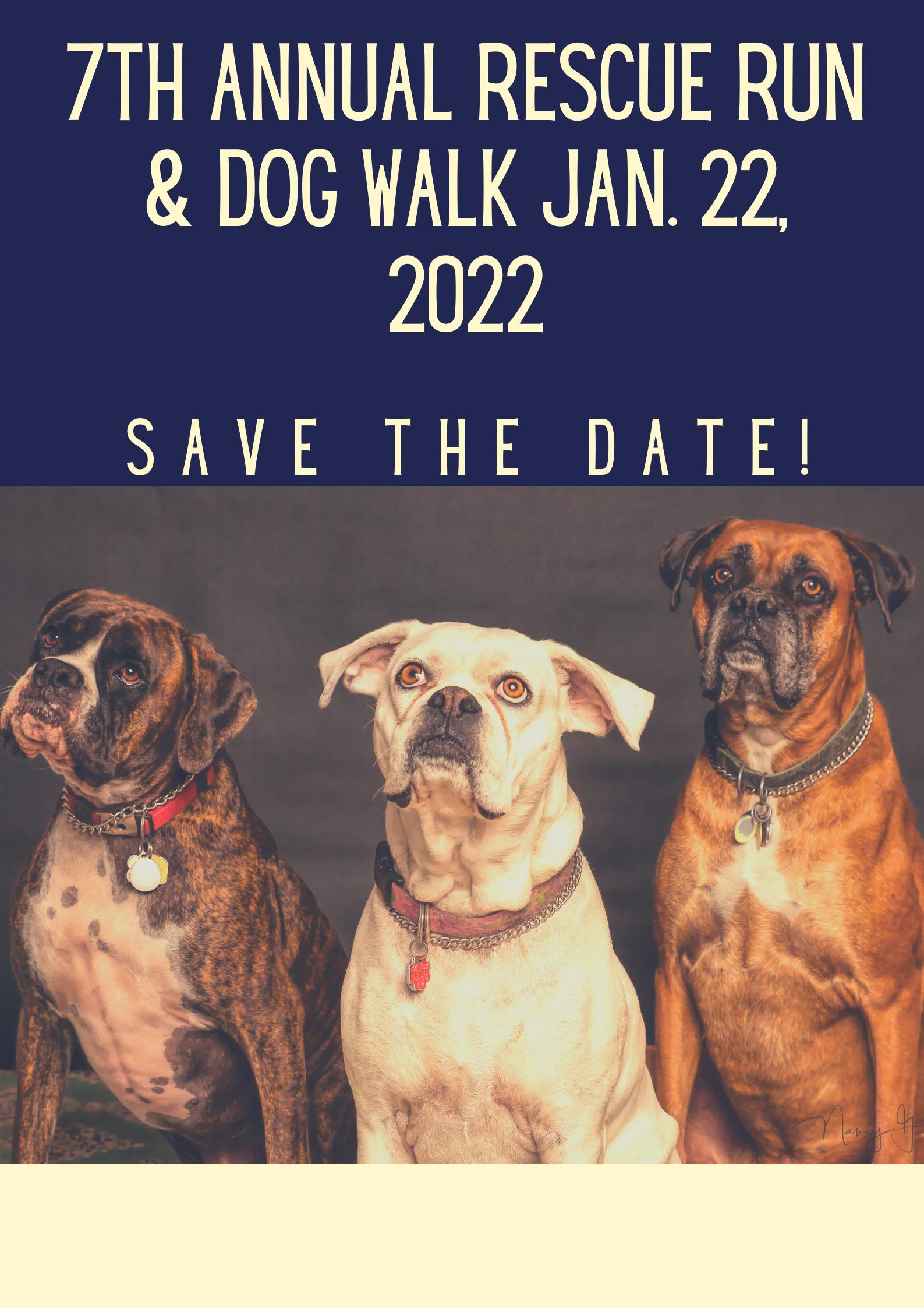 2022 7th Annual Rescue Run & Dog Walk