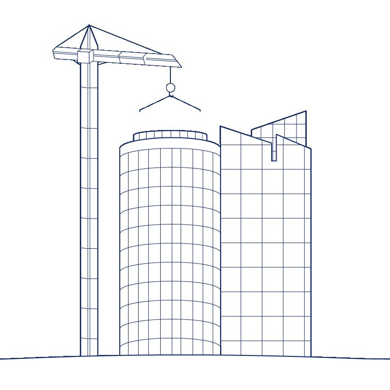 KEH2 Building Business Construction Crane