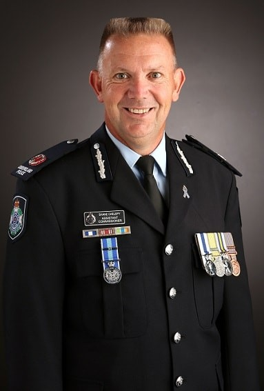 Assistant Commissioner, Shane Chelepy