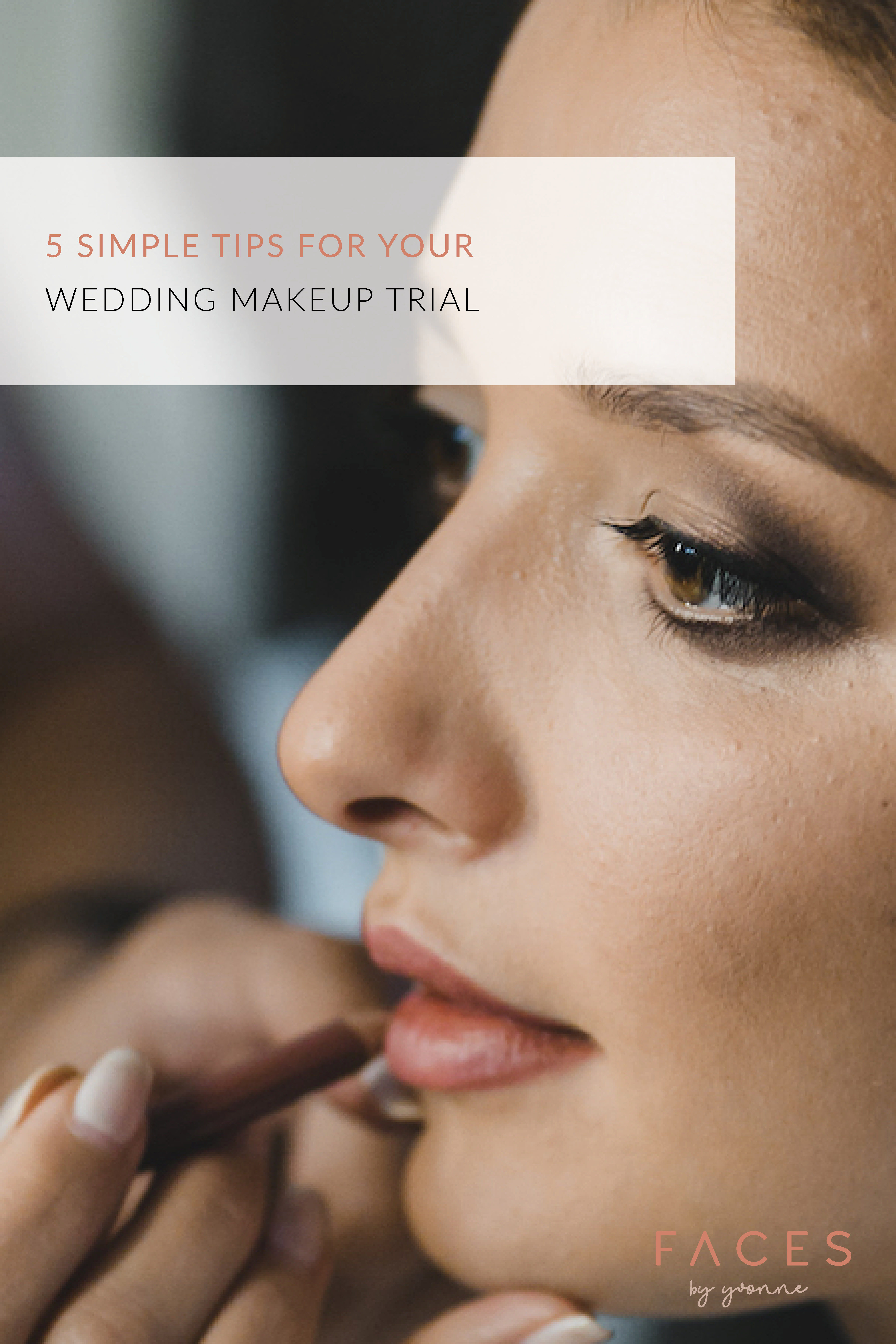 Perth Makeup Artist | Faces by Yvonne | Wedding Makeup Trial