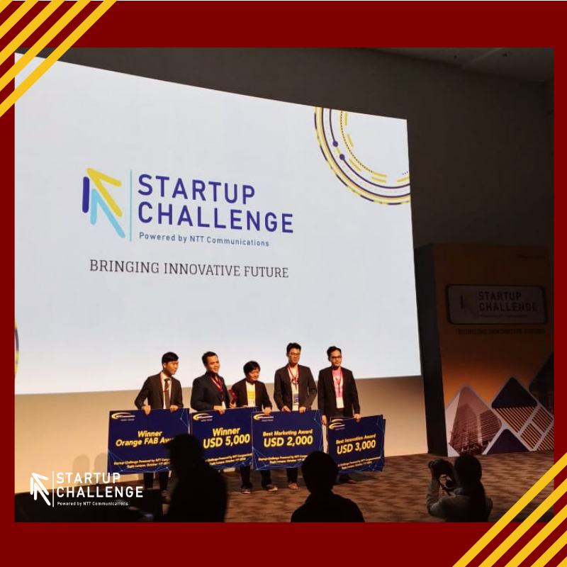 SmartPeep takes a leap into Japan's market via winning the Best Marketing Award in the NTT Com Startup Challenge 2018