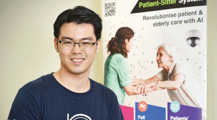 The Edge Singapore: SmartPeep uses AI to detect falls among elderly