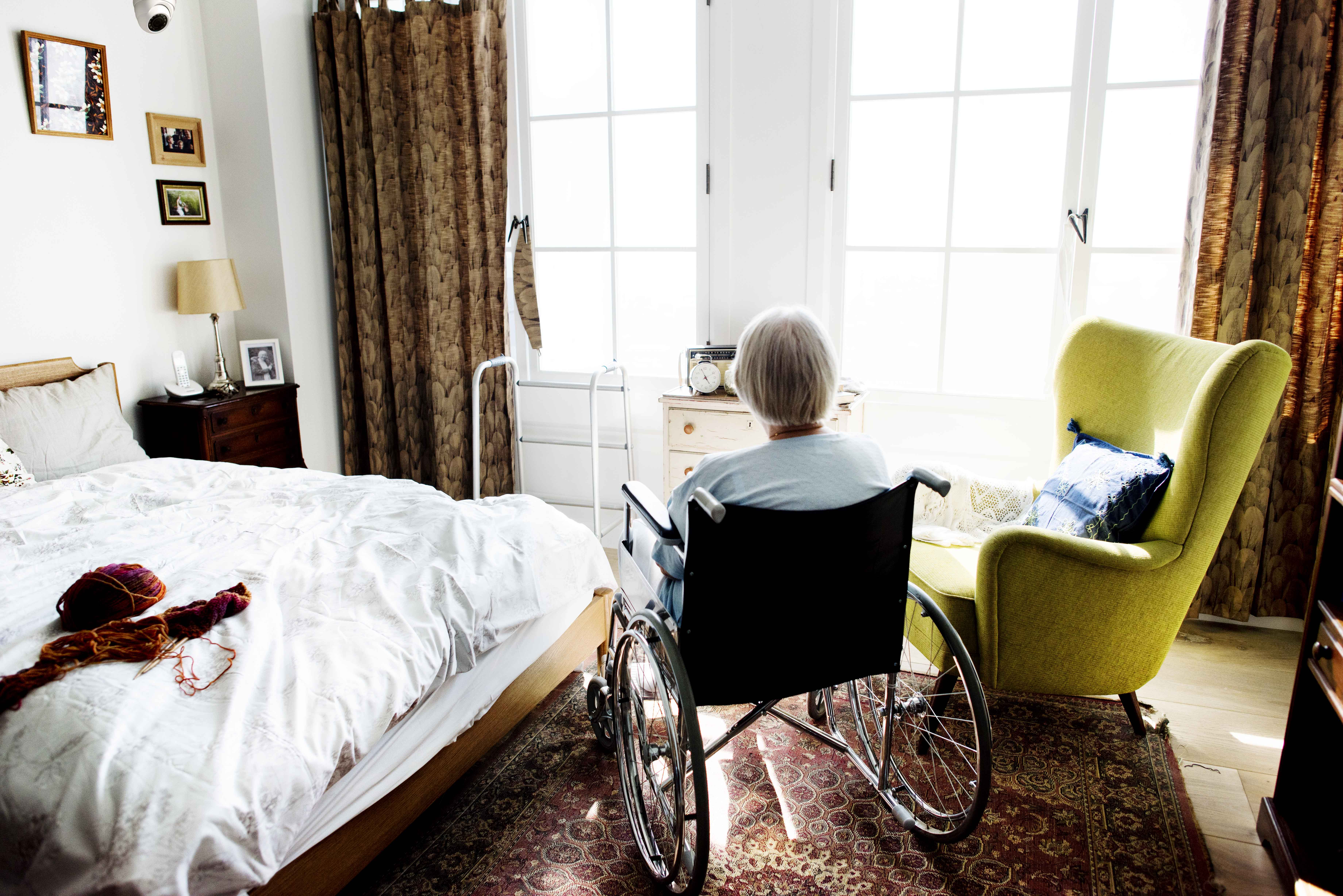 Virtual rounding protects senior residents and aged care workers from infections