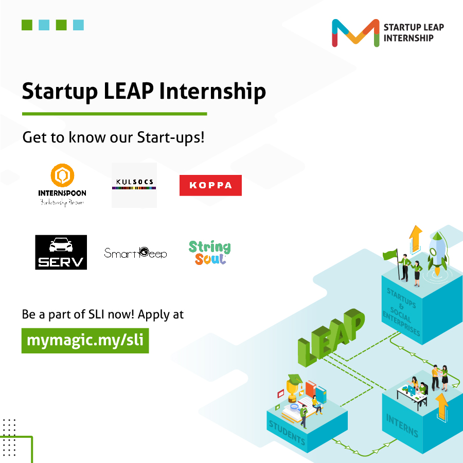 SmartPeep supports Startup LEAP Internship Programme, organised by Malaysian Global Innovation & Creativity Centre (MaGIC)