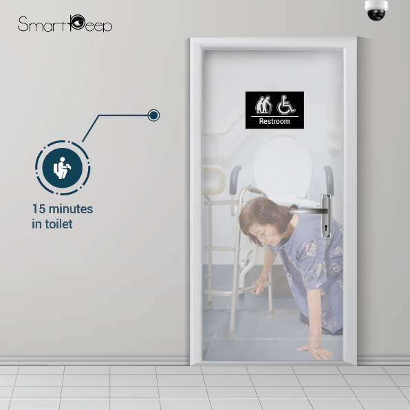 Prevent toilet falls and accidents among elderlies with SmartPeep's AI System