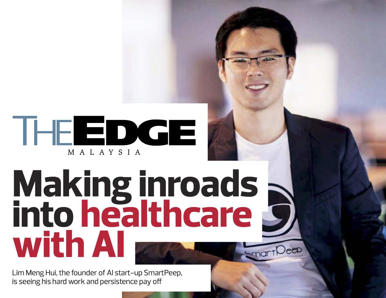 Making inroads into healthcare with AI   The Edge Malaysia