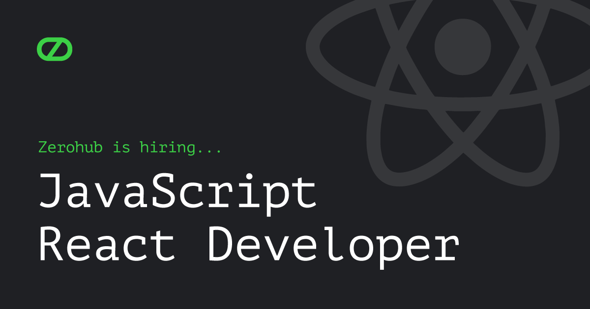 JavaScript React Developer