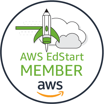 AWS Edstart membership logo