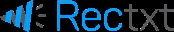 rectxt logo, a very modern  logo