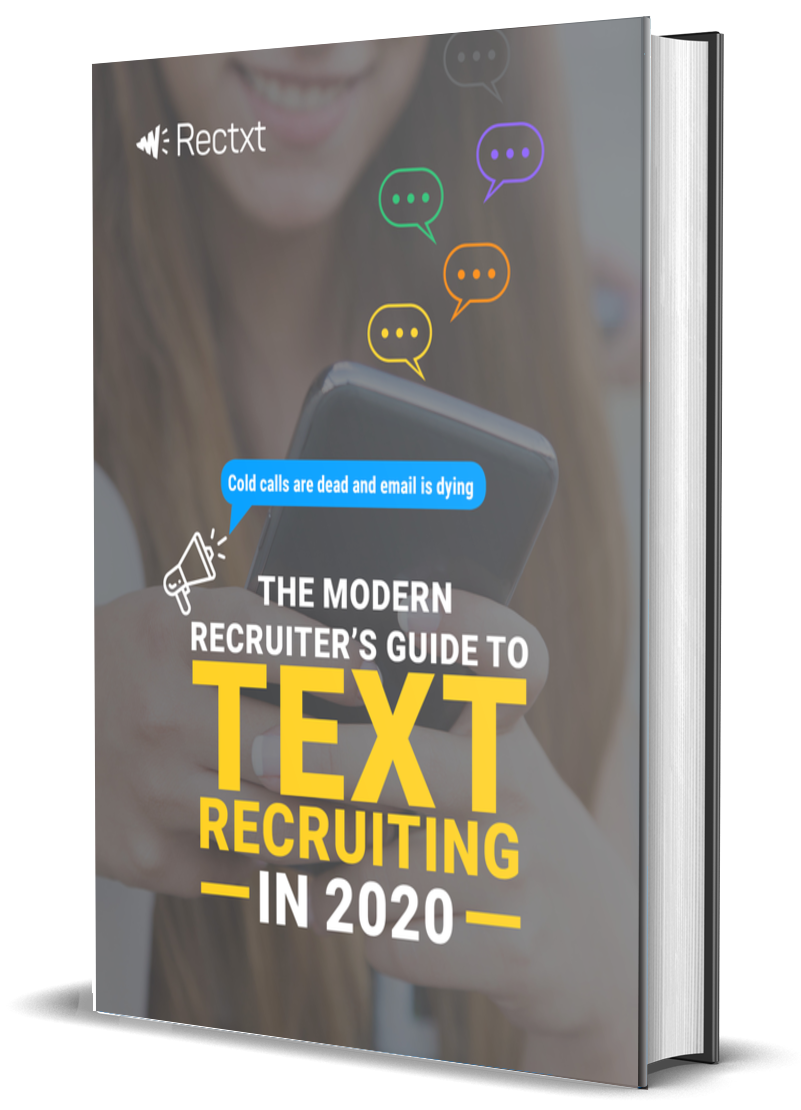 Guide to text recruiting, created by Rectxt