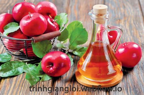 Giấm táo phương pháp dân gian chữa bệnh sùi mào gà