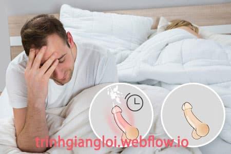 Những nguyên nhân gây xuất tinh sớm ở nam giới
