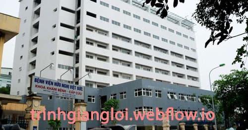 Khám chữa vô sinh hiếm muộn tại Bệnh viện Việt Đức