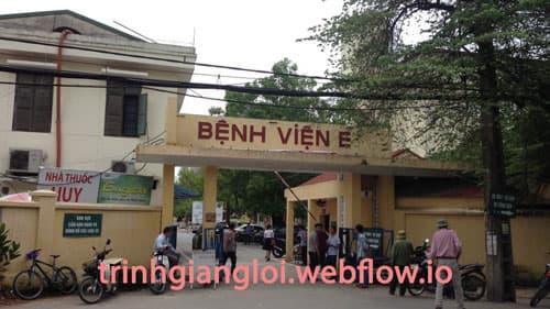 Khám chữa bệnh vô sinh ở Bệnh viện E Hà Nội