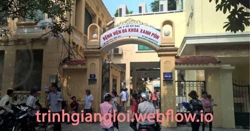 Khám vô sinh hiếm muộn tại bệnh viện Xanh Pôn