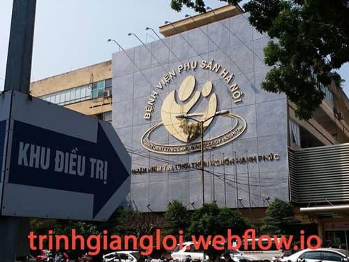 Khám nam khoa tại Bệnh viện Phụ sản Hà Nội